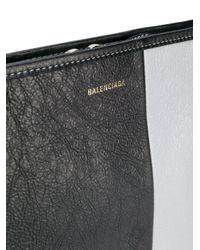 Клатч 'bazar' Balenciaga для него, цвет: Black