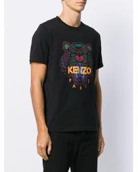 メンズ KENZO プリント Tシャツ Black