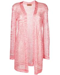 Cardigan con paillettes di Missoni in Pink