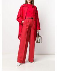 Брюки Широкого Кроя Fendi, цвет: Red
