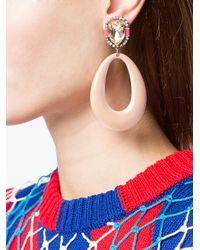 DANNIJO Pink Elvis Earrings