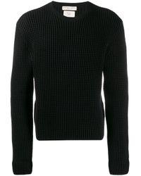 メンズ Bottega Veneta テクスチャード セーター Black