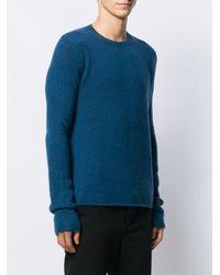 Джемпер С Удлиненными Рукавами Bottega Veneta для него, цвет: Blue