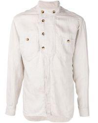 メンズ Isabel Marant ボタン シャツ Multicolor