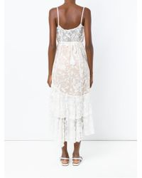 Martha Medeiros - White Embroidered Dress - Lyst
