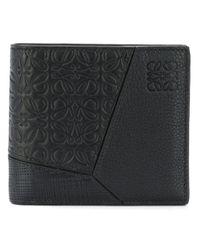 Portafoglio classico di Loewe in Black da Uomo