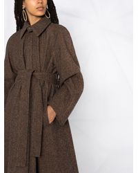 Lemaire タイウエスト コート Brown