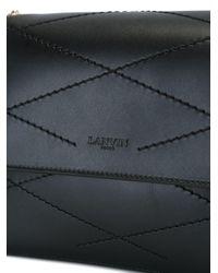 Lanvin - Black 'sugar' Shoulder Bag - Lyst