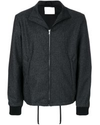 Societe Anonyme Gray Lux Track Top for men