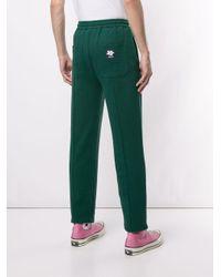 メンズ KENZO ロゴ トラックパンツ Green