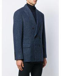 メンズ Brunello Cucinelli ダブルジャケット Blue