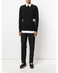 Givenchy - Black Drawstring Track Pants for Men - Lyst