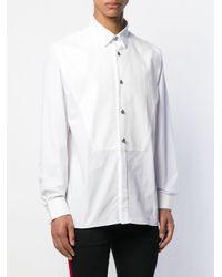 Фактурная Рубашка На Пуговицах Balmain для него, цвет: White