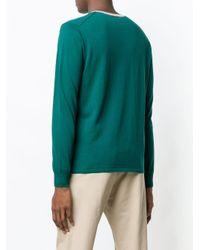 - homme Eleventy pour homme en coloris Green