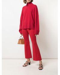 Pull ample à col roulé Rosetta Getty en coloris Red