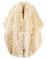 Céline オーバーサイズ コート Natural