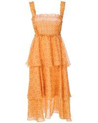 Vestito midi Zelza di Clube Bossa in Orange