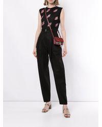 Pantalon à taille haute Giambattista Valli en coloris Black