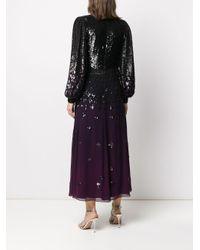Temperley London スパンコール ドレス Black