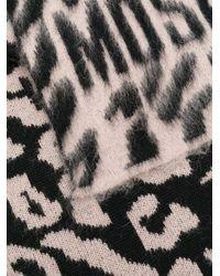 Moschino レオパード スカーフ Multicolor