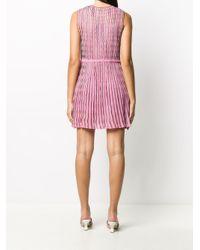 M Missoni ウェーブパターン ドレス Pink