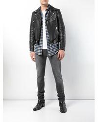 Hudson Gray Blake Fit Skinny Jeans for men