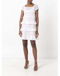 Antonino Valenti White Genziana Dress