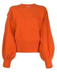 J.W. Anderson レイヤードスリーブ セーター Orange