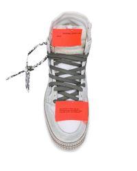 Off-White c/o Virgil Abloh 'Off Court 3.0' High-Top-Sneakers in White für Herren
