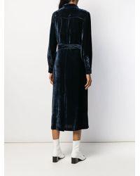 Sies Marjan ベルテッド シャツドレス Blue