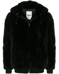 Chaqueta Fantasy Fur con capucha Army by Yves Salomon de hombre de color Black