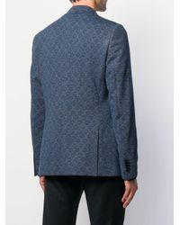 メンズ Etro ジャージー ジャケット Blue
