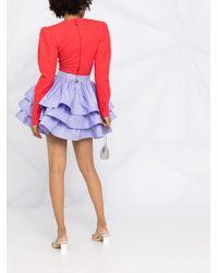 Elisabetta Franchi ハイウエスト スカート Purple