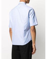 メンズ BOSS ショートスリーブ シャツ Blue
