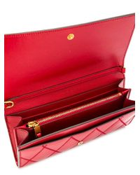 Givenchy チェーンウォレット Red