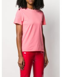 Courreges クルーネック Tシャツ Pink