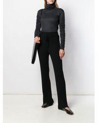 Pull à manches très longues Lemaire en coloris Black