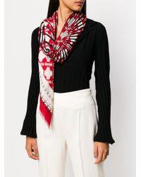 Haider Ackermann パターン スカーフ Red