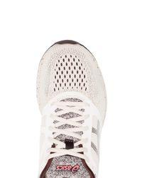 Asics - Multicolor Nude And Red Roadhawk Ff Sakura Sneakers for Men - Lyst
