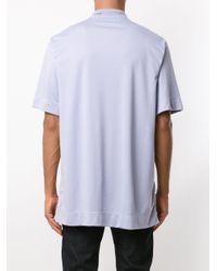Camiseta con cuello alto À La Garçonne de color Multicolor