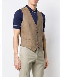 Tagliatore Multicolor Brian Waistcoat for men