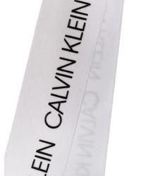 Calvin Klein ロゴ ビキニトップ Black