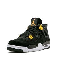 Nike 'Air 4 Retro' Sneakers in Black für Herren
