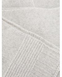 Sofie D'Hoore - Gray Classic Knitted Scarf - Lyst