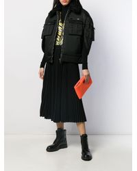 Prada オーバーサイズ コート Black