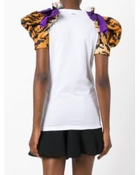 DSquared² - White Tiger Print T-shirt - Lyst