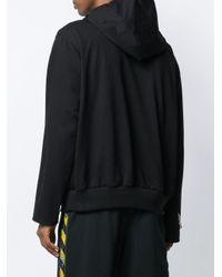 Ih Nom Uh Nit Kapuzenpullover mit Kettendetail in Black für Herren
