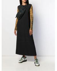 Calvin Klein ロングスリーブ ドレス Black