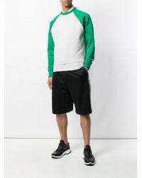 Dolce & Gabbana - Black Logo Band Track Shorts for Men - Lyst