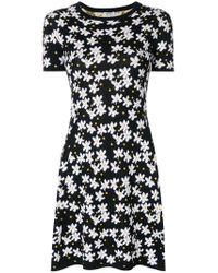 KENZO Black Daisy Patch Dress